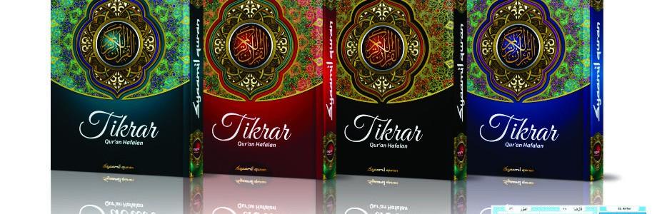 Jual Online Mushaf Al-Quran Hafalan Tikrar Syaamil Quran Palembang