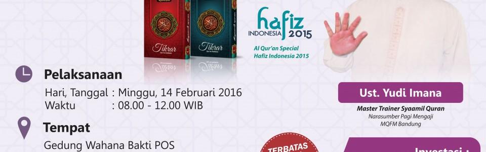 Pelatihan Akbar Tikrar Akan Digelar di Bandung
