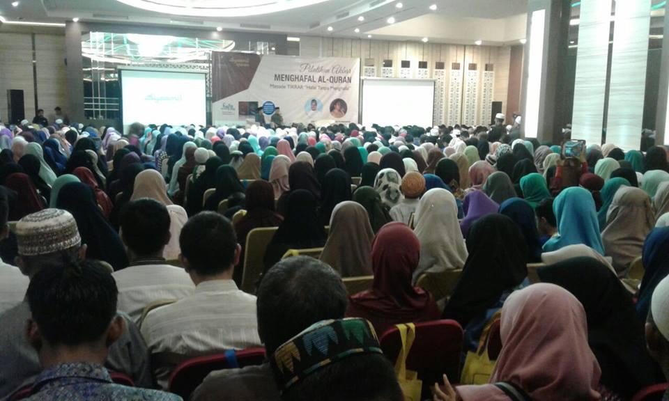 Suasana Pelatihan Akbar Tikrar di Banjarmasin