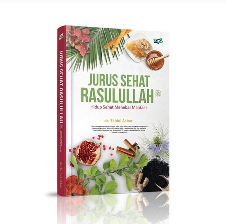 Jual Buku Jurus Sehat Rasulullah Ustadz Zaidul Akbar